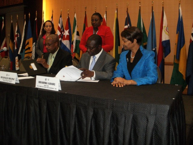 Barbados and the ITU sign CIRT Agreement